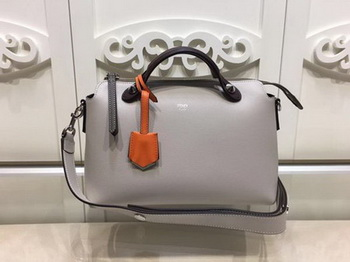 Fendi BY THE WAY Bag Original Calfskin Leather F21790 OffWhite
