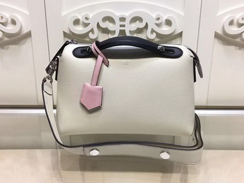 Fendi BY THE WAY Bag Original Calfskin Leather F21790 White