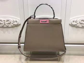 Fendi Peekaboo Small Bag Calfskin Leather FD26796 Camel