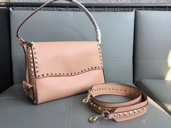 Valentino Rockstud Single Handle Bag PW2B0A85 Apricot