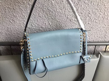 Valentino Rockstud Single Handle Bag PW2B0A85 SkyBlue