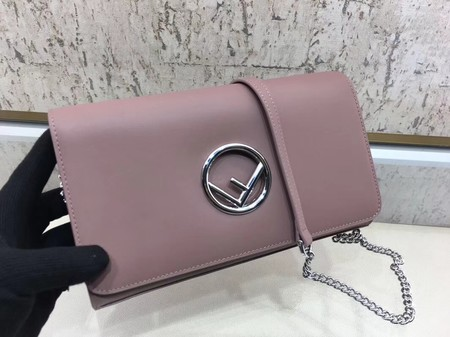 Fendi KAN I F Shoulder Bag Original Leather F3326 Pink