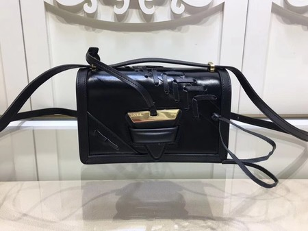 Loewe Barcelona Bag Calfskin Leather L9125 Black
