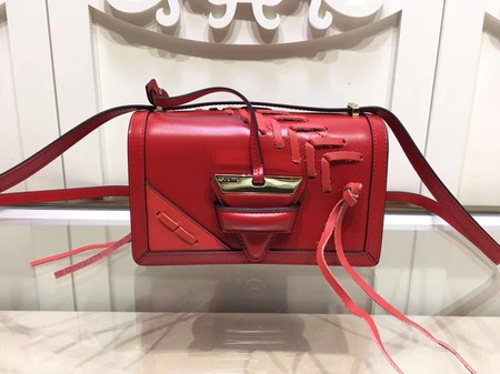 Loewe Barcelona Bag Calfskin Leather L9125 Red