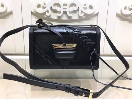 Loewe Barcelona Small Bag Calfskin Leather L9126 Black