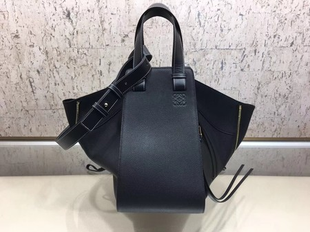 Loewe Hammock Bag Original Leather A9128 Black