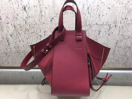 Loewe Hammock Bag Original Leather A9128 Red
