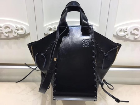 Loewe Hammock Bag Original Leather L9128 Black