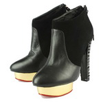 Charlotte Olympia Ziggy Ankle Boots Black