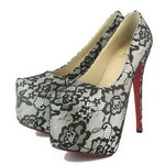 Christian Louboutin Daffodil 160 Lace Pumps