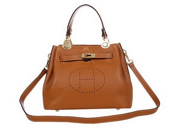 Hermes Mini So Kelly 30CM Bag H2048 Ocher