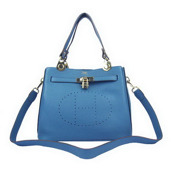 Hermes Mini So Kelly 30CM Bag H60668 Blue