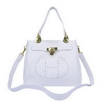 Hermes Mini So Kelly 30CM Bag H60668 White