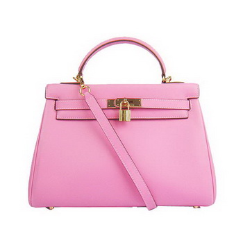 Hermes Kelly 32cm Bags Togo Leather 6108 Pink Golden