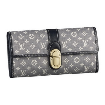 Louis Vuitton M63007 Monogram Idylle Sarah Wallet Encre