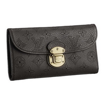 Louis Vuitton M95968 Mahina Amelia Wallet Chocolat