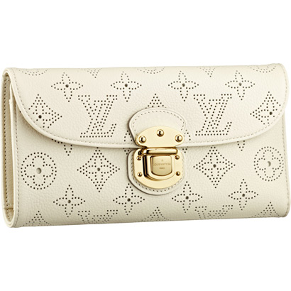 Louis Vuitton Mahina Leather Amelia Wallet M58132 Lin
