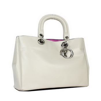 Dior Small Diorissimo Bag Original Nappa Leather D0902 Grey
