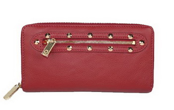Louis Vuitton Suhali Leather Zippy Wallet M95871 Red