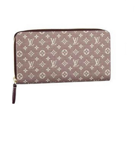 Louis Vuitton Monogram Idylle Zippy Wallet M63011 Sepia