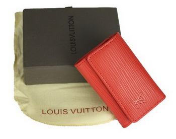 Louis Vuitton Epi Leather 6 Key Holder M61717 Red