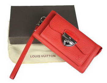 Louis Vuitton Epi Leather Astrid Wallet M66592 Red
