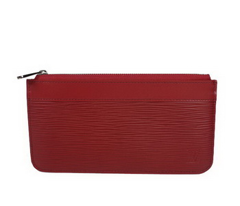 Louis Vuitton Epi Leather Key Pouch M66602 Red