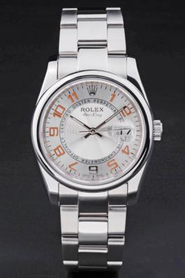 Rolex Air-King Mechanism Stainless Steel Watch-RA3874