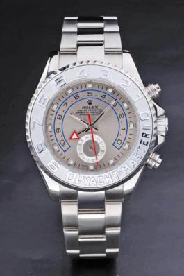 Rolex Yacht-Master II Silver Stainless Steel Watch-RY3902