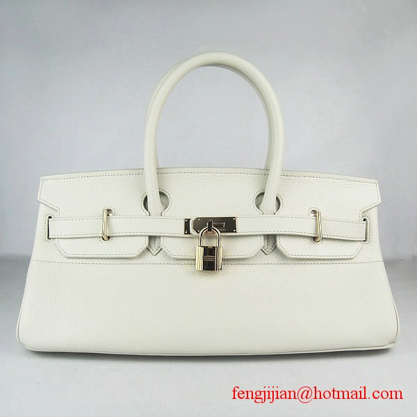 Hermes Birkin 42cm Togo Leather Bag Beige 6109 Gold padlock