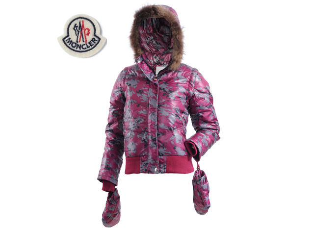 Moncler Branson Womens Down Jacket Pink