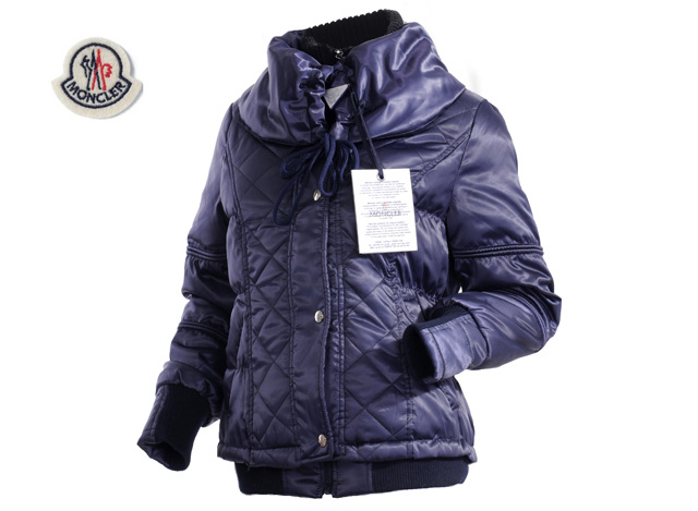 Moncler Womens Jacket Navy